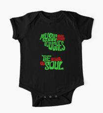 Music Touches The Soul One Piece - Short Sleeve
