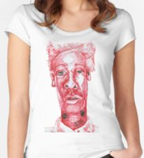 Psst... Psst... Women's Fitted Scoop T-Shirt