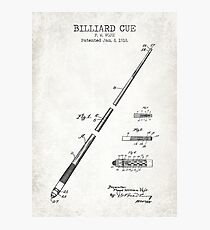 Billiard Cue Photographic Print