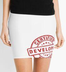 certified developer Mini Skirt