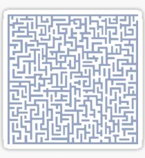 The maze Sticker