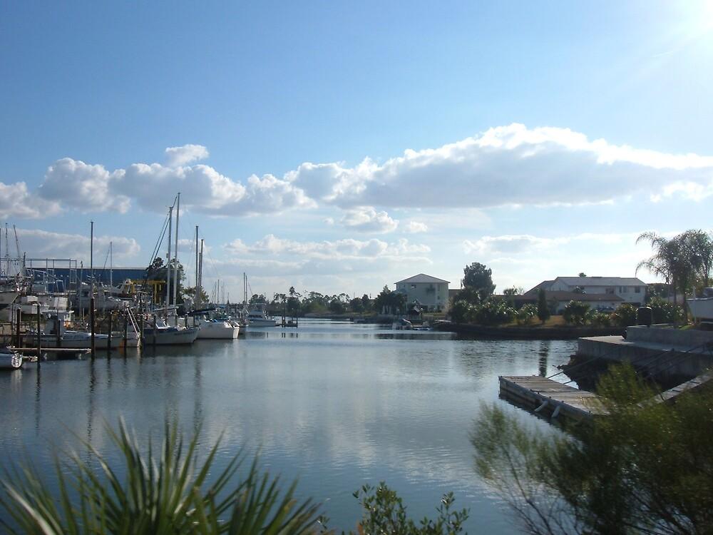 The docks. by MorbidPuppet