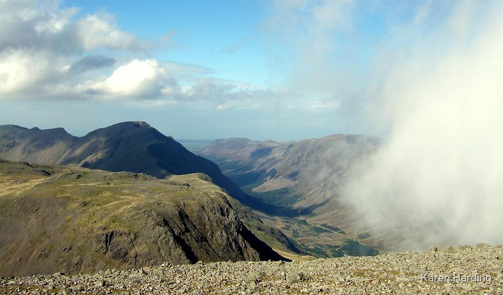 Great Gable View by Karen Harding