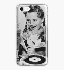 TOY / Girl with Barbie and Ken Dolls iPhone Case/Skin