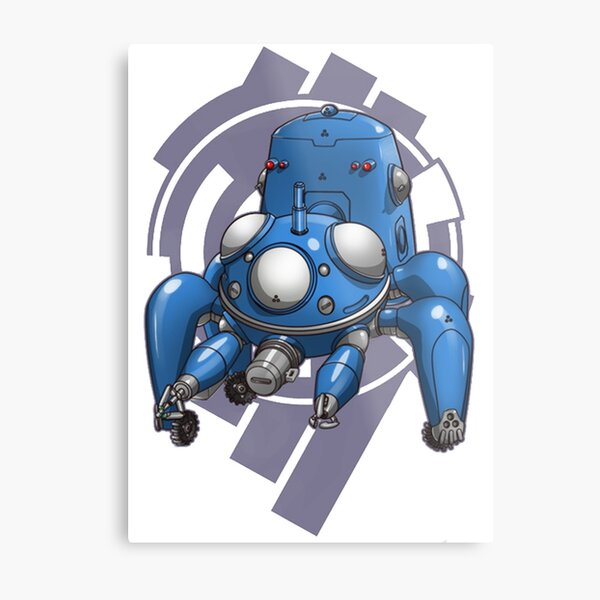 Ghost In The Shell - Tachicoma Metal Print