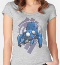 Ghost In The Shell - Tachicoma Women's Fitted Scoop T-Shirt