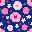 Cherry Blossom Sakura Pattern by pda1986