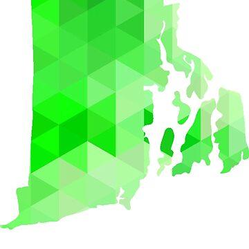 RI - Verde geométrico de cjackvony