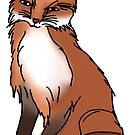happy little fox by andilynnf