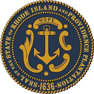 Sello de Rhode Island de cjackvony