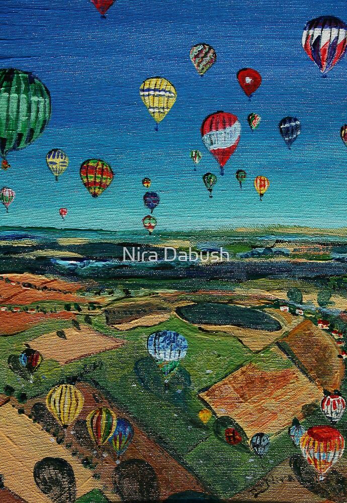Colourful Landing by Nira Dabush