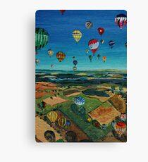 Colourful Landing Canvas Print