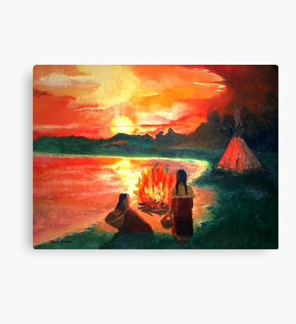 Living with the Elements Canvas Print