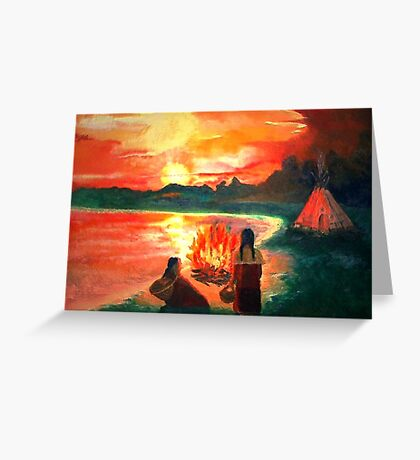 Living with the Elements Greeting Card
