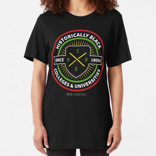 Historically Black Colleges and Universities (HBCU) Slim Fit T-Shirt