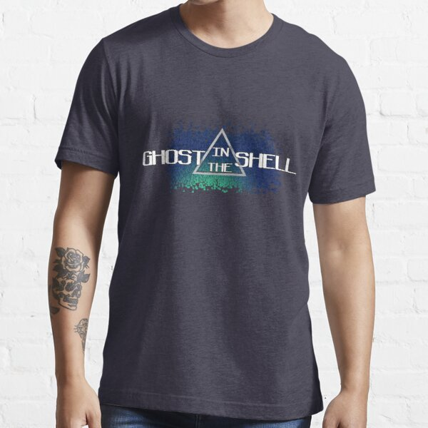 Ghost In The Shell 3D Pyramids Essential T-Shirt