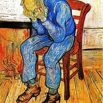 Sorrowing Old Man At Eternity's Gate by MerryPerry