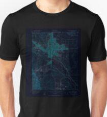 USGS TOPO Map Colorado CO Colorado Springs 400771 1950 24000 Inverted Unisex T-Shirt