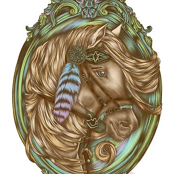 Tribal Horse by jillsandersart