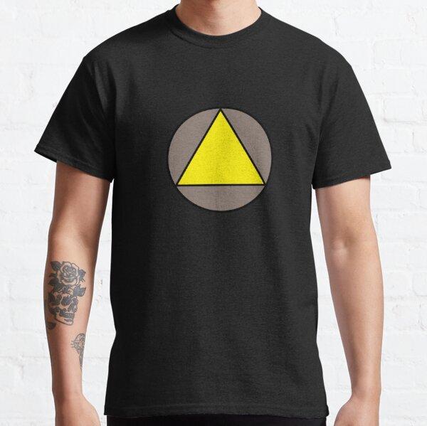 Yellow Triangle Classic T-Shirt