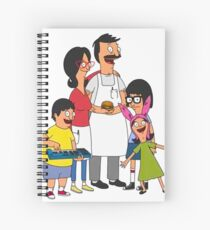 The Burger Family 2 Spiral Notebook