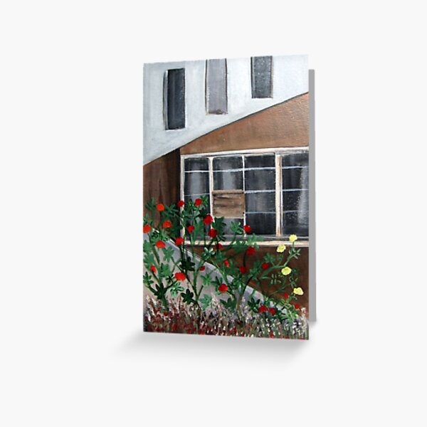 House in Llano Greeting Card