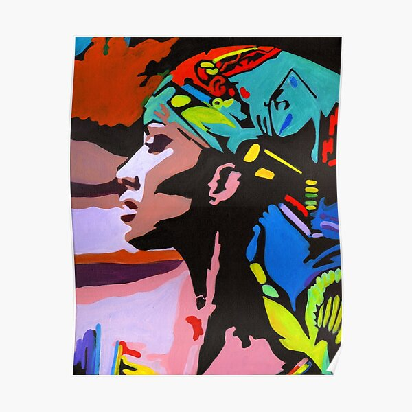 Modern Nefertiti Poster