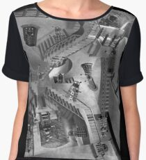 Escher's Asylum of the Daleks Women's Chiffon Top