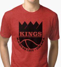 Kansas City Kings Omaha Tri-blend T-Shirt