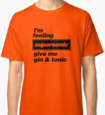 Oasis - Supersonic Lyrics design Classic T-Shirt