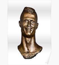 Cristiano Ronaldo Statue/Bust Poster