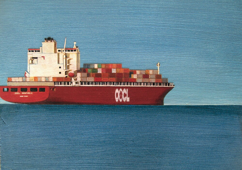 OOCL SHIP PANEL by jo vautier