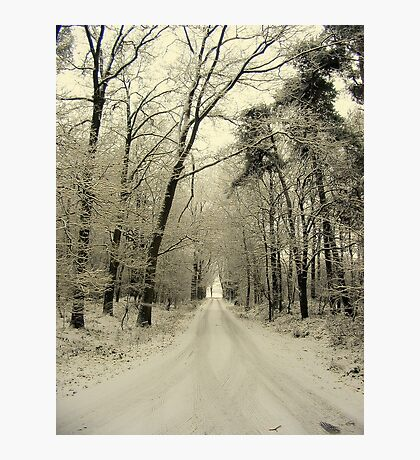 A New Year, The Road Ahead Photographic Print