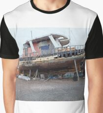 Derelict fishing boat Graphic T-Shirt