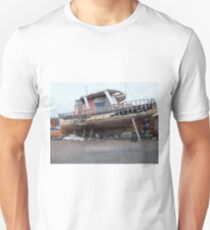 Derelict fishing boat Unisex T-Shirt