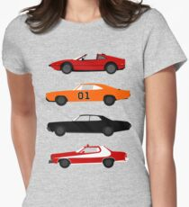 The Car's The TV Star Women's Fitted T-Shirt