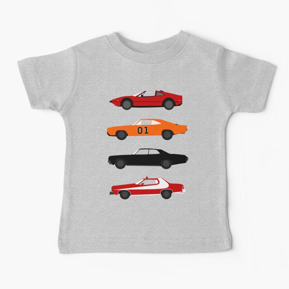The Car's The TV Star Baby T-Shirt