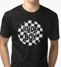 Prince - Rude Boy Big Chick Throwback Tri-blend T-Shirt
