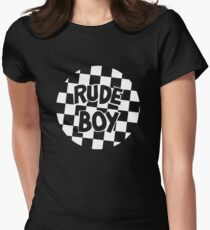 Prince - Rude Boy Big Chick Throwback Womens Fitted T-Shirt