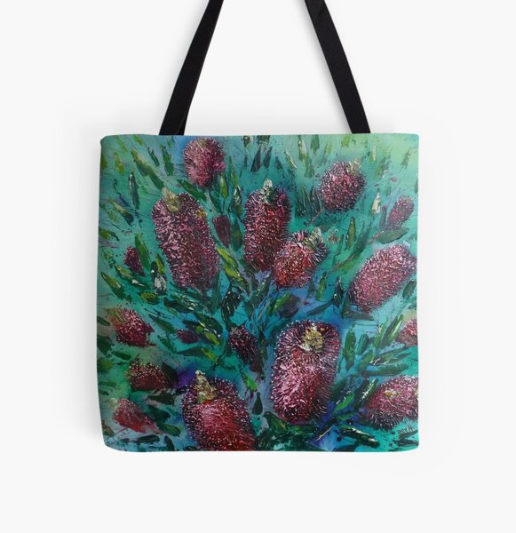Clearly Callistemons All Over Print Tote Bag
