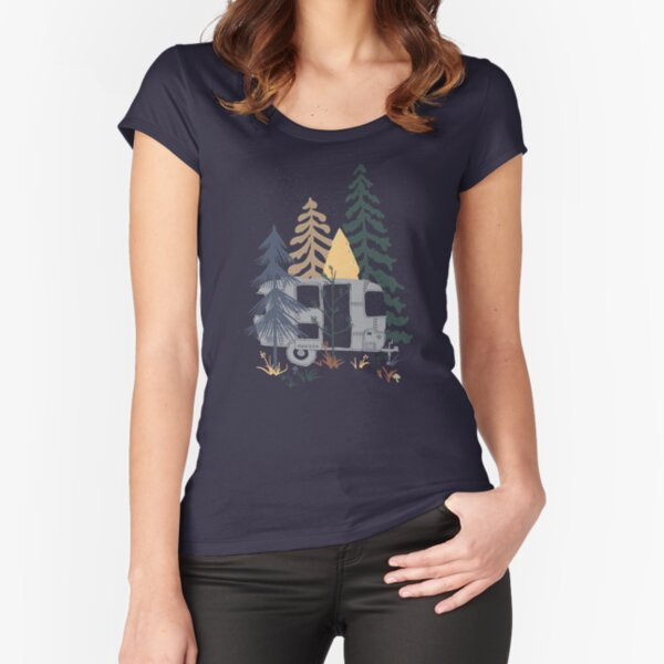 Wild Airstream... Fitted Scoop T-Shirt