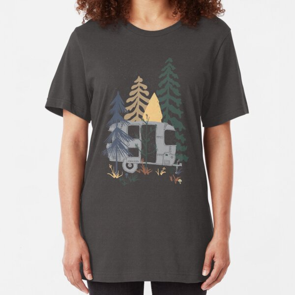 Wild Airstream... Slim Fit T-Shirt