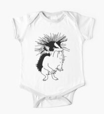 Yellow-streaked tenrec One Piece - Short Sleeve