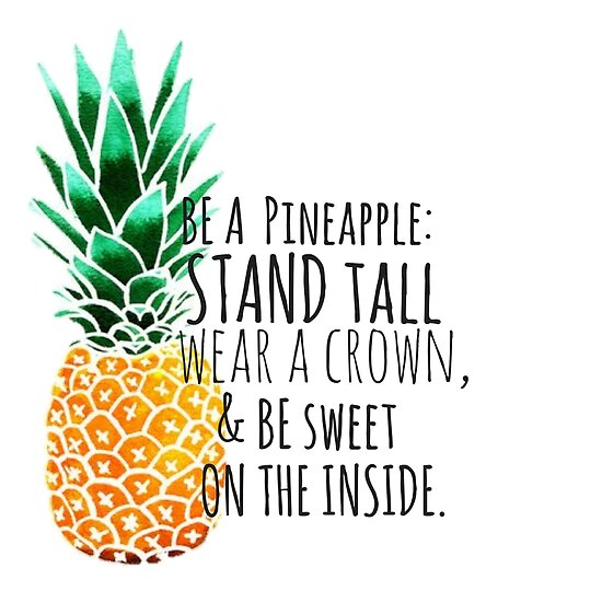 Quot Be A Pineapple Plain Quot Poster By Annmariestowe Redbubble