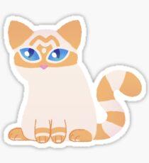 Little Flamepoint Cat Sticker