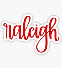 Raleigh Sticker