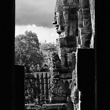 Bayon Temple by Bern