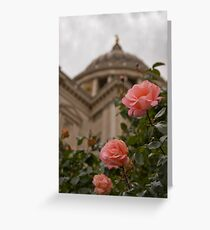 Rose By St Pauls Greeting Card
