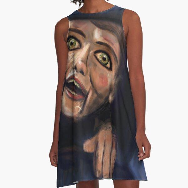 automatonophobia - living dummy A-Line Dress