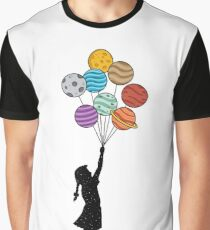 Planets Balloons Graphic T-Shirt